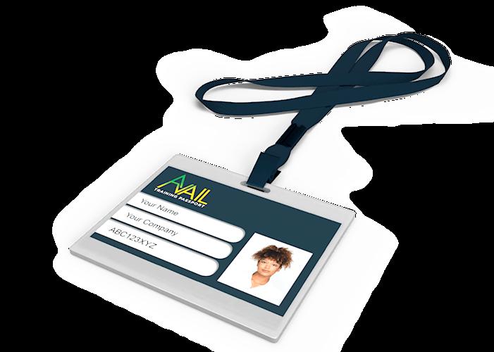 Avail Training Passport Card
